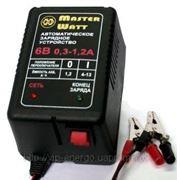 Автоматическое зарядное устройство 0,3-1,2А 6В для мото аккумуляторов фото