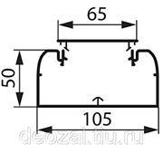 Кабель-канал Legrand 105мм x 50мм с гибкой крышкой 65мм фото
