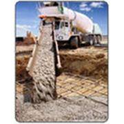Доставка бетонных смесей. фото