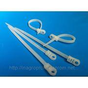 Стяжки ( хомуты ) кабельные под дюбель - ISO 9001 фото
