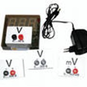 Вольтметр демонстрационный цифровой (с гальванометром) ВДЦ-1С фото