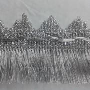 Бахрома из ниток люрекс ширина: 5 см фото