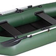 Надувная гребная лодка Kolibri К-260T Стандарт серия со сланью-ковриком в комплекте фото