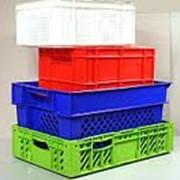Ящики пластмассовые фото