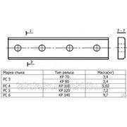 Накладка стыковая КР-100 (стык РС4), ст.3, новая фото