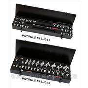 Динамометрический ключ ERGOTORQUE®precision с комплектом сменных насадок фото