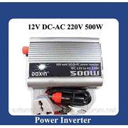 Автомобильный Инвертор 500W Doxin 12 - 220 в фото