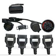 Набор переходников для сканера Autocom CDP Truck фото