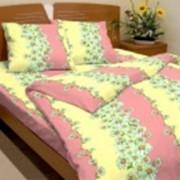 Ткань постельная Бязь 100 гр/м2 150 см Набивная Садовые ромашки 2329-3/S815 TDT фото
