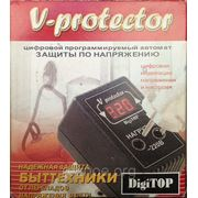 Реле напряжения V-protector 6A,Барьер фото