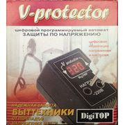 Реле напряжения V-protector 10A,Барьер фото