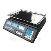 Весы электронные, торговые Спартак, Elite Lux с калькулятором, с наибольшим пределом взвешивания до 40 кг фото