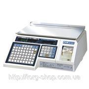 Весы с чекопечатью CAS LP 1.6 (RS232) фото
