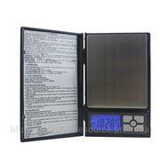 Весы цифровые Notebook 8038(±0.01g/1000g) с функцией счета. фото