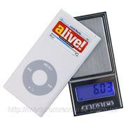 Весы цифровые DH02(±0.01g/200g) в форме ipod. фото