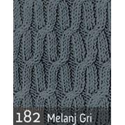 Пряжа для вязания Кашемир файн ALIZE средне серый меланж 182 фото