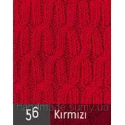 Пряжа для вязания Кашемир файн ALIZE красный 56 фото
