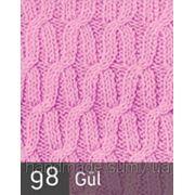 Пряжа для вязания Кашемир файн ALIZE роза 98 фото