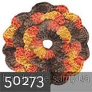 Пряжа для вязания Кашемир файн ALIZE желтый-оранжев-коричневый 50273 фото