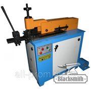Электро-гидравлический станок для закрутки кованых окончаний в плотный завиток LP-120 фото