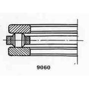 Подшипник роликовый упорный и упорно-радиальный 4-9106