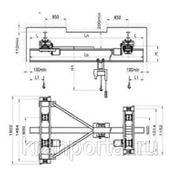 Кран мостовой однобалочный подвесной электрический г/п 1т;2т. фото
