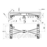 Кран мостовой электрический опорный г/п 3,2 т. фото