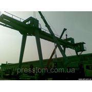 Мостовой эл.кран для подьема грузов 3 фото