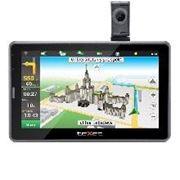 Автомобильный навигатор GPS TeXet TN-525HD DVR Black Grey фото