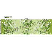 Ткань с лилией заеленой