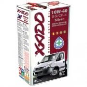 Масла моторные минеральные XADO Atomic Oil 10W-40 SG/CF-4 Silver фото