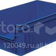 Пластиковый ящик 600х400х220 с вырезом Арт.104-20А