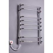 Полотенцесушители электрические Стандарт - 8 нержавеющая сталь фото