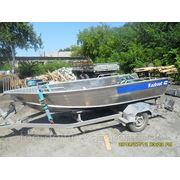 Гребная - моторная лодка Kazboat - 42 фото