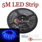 Гибкая светодиодная подсветка для автомобиля SMD 1210 (5 м. синяя) фото