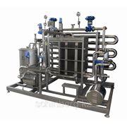 Пластинчатая установка пастеризации, термические циклы: 4/82/12-4°C фото