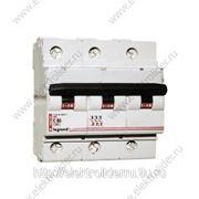 Автоматический выключатель 3-полюсный 80A фото