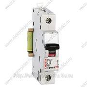 Автоматический выключатель 1-полюсный 6A фото