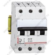 Автоматический выключатель 3-полюсный 63A фото