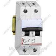 Автоматический выключатель 2-полюсный 6A фото
