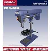 Станок сверлильный КРАТОН 375Вт, 300-2550об/мин, d=1.5-16мм, 12 скоростей, max ход/шп 65мм DM16/375W фото