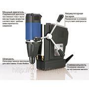 Магнитный сверлильный станок МАВ 3000 на аккумуляторе фото