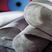 Нетканый термоскрепленный геотекстиль фото