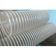 Промышленные армированные гибкие шланги из ПВХ для вентиляции фото