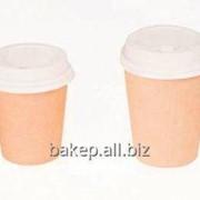 Стакан для горячих напитков Крафт CUP 195C фото