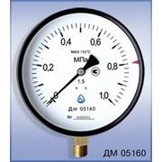 Манометр общего назначения ДМ 05160 - 100 кгс/см2 - 1,5 - 01М ТУ У 33.2-14307481-031:2005 фото