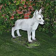 Садовая фигура Волчонок фото