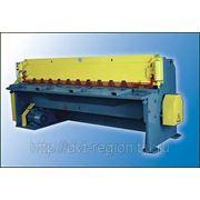 Установка для резки металла НГ-6,3х2000 фото
