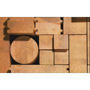 Доставка изделий из сибирской лиственницы строительным компаниям. фото