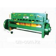 Электромеханическая гильотина Q11 8х2500 фото